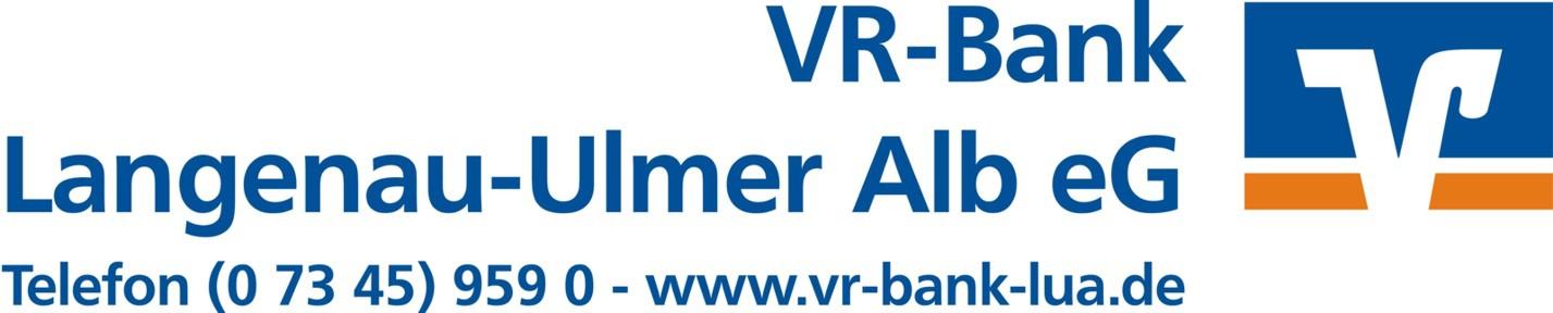 Logo VR-Bank mit Adresse