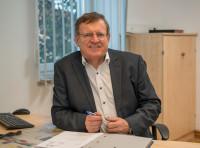 Ortsvorsteher von Abeck Walter Wiedenmann