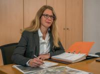 Ortsvorsteherin von Hörvelsingen Martina Röscheisen