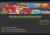 Visitenkarte Denise-Kinderschminken 2
