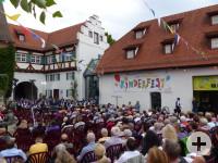 Kinderfest-Empfang im Pfleghof 2018