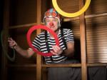 Clown Dido lacht trotzdem