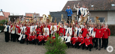Gruppenbild Schwäble & Stadtkapelle Frühjahr 2019